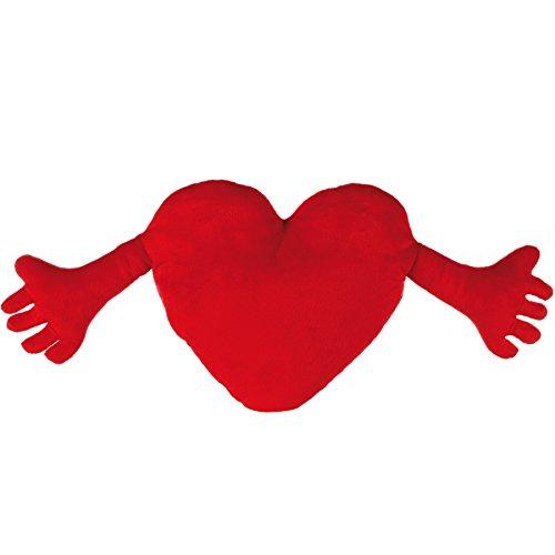 Corazón con Manos Rojo