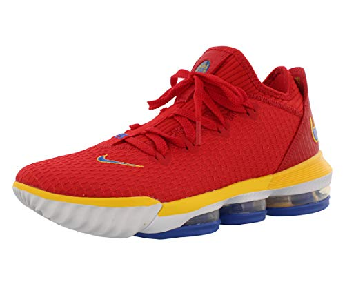 Nike Herren Lebron XVI Low Sb Basketballschuhe, Mehrfarbig (University Red/Varsity Royal 000), 45 EU