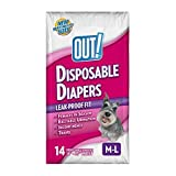 Out! Disposable Diapers, Medium, 14-Count