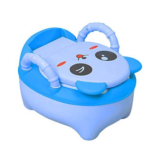 QIANGUANG® Toilette WC per bambini Sedile Bambino piccolo Allenatore Vasino Sedile del water (Blu Nuovo)