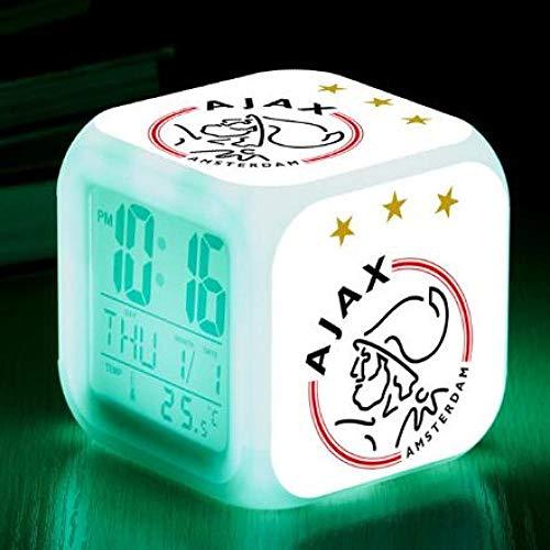 shiyueNB William II voetbal/team digitale klok Premier League team LED wekker Reloj Despertador