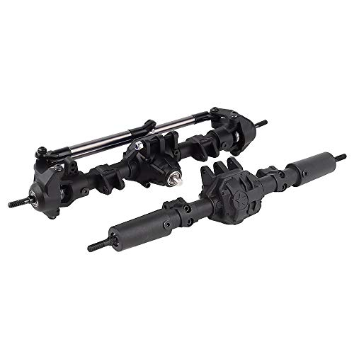 INJORA Front & Rear Axle for 1/10 Axial SCX10 II 90046 90047,Axial SCX10 II Upgrades