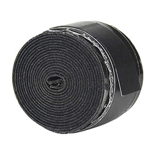 Colcolo Agarre de Tiro con Extensible Que Absorbe El Sudor Agarre de Raqueta con Agarre - Negro