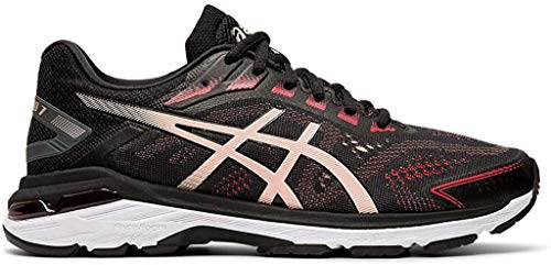 ASICS Women's GT-2000 7 Running Shoes, 8M, Black/Breeze