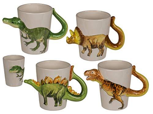 Taza de dinosaurio 3D, Velociraptor