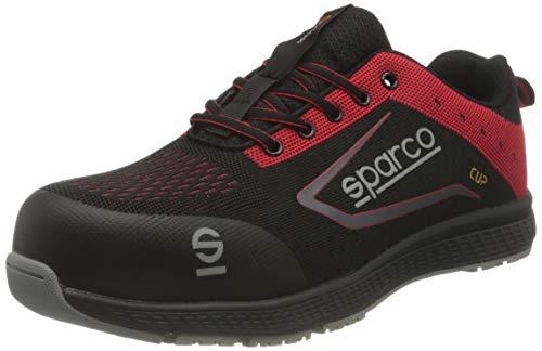 Sparco - Zapatillas Cup S1P Black/Rojo talla 42