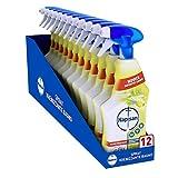 Napisan Spray Igienizzante Multisuperfici Bagno, Limone e Menta, Confezione da 12 Spray...