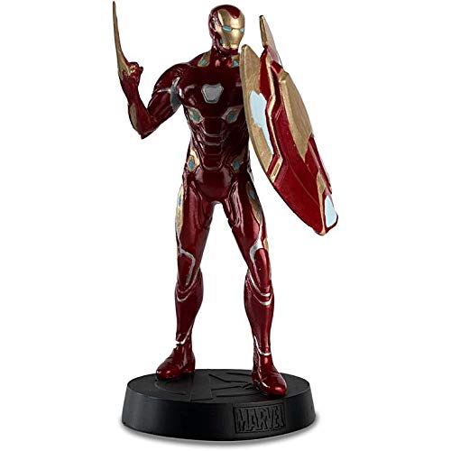 Marvel Movie Figura de Resina Collection Nº 92 Iron Man Mark 50 (Infinity War) 13 cms