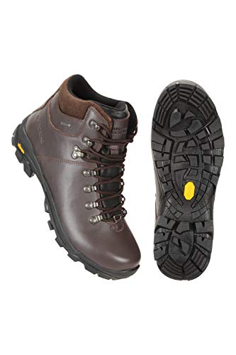 Mountain Warehouse Latitude Waterproof Extreme Vibram Womens Boot Marron 41