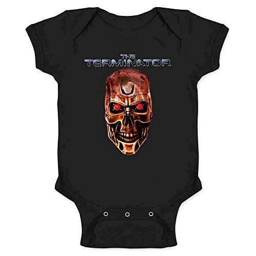 The Terminator Baby Bodysuit by Pop Threads. Choice of Designs, 6 to 24 Months