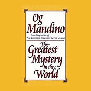 The Greatest Mystery in the World audiobook cover art