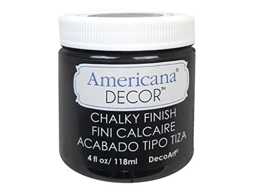 Americana Chalky Finish Paint 4oz-Carbon