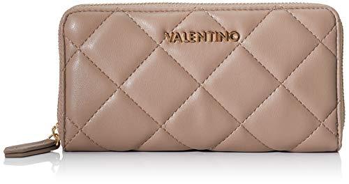 Mario Valentino Valentino by Damen Ocarina Geldbörse, Beige (taupe), 2.5x10x19 cm