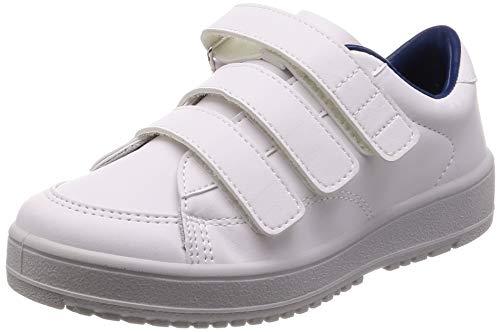 [ムーンスター] メンズ/レディース リハビリ 介護靴 片足販売 Vステップ07 (左足のみ) ホワイト 28 cm 3E
