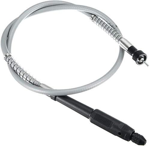 Eje Flexible de extensión de Amoladora eléctrica con Mandril sin Llave de 0.3-3.2 mm para Herramienta de Amoladora giratoria