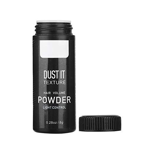Polvo matificante para el cabello, polvo de peinado esponjoso portátil adecuado para el cuidado del estilo de cabello graso para hombres y mujeres