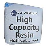 High Capacity Replacement Water Softener Resin 8% Crosslink 1/2 cubic foot
