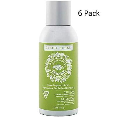 Claire Burke Original Home Fragrance Spray 6-Pack