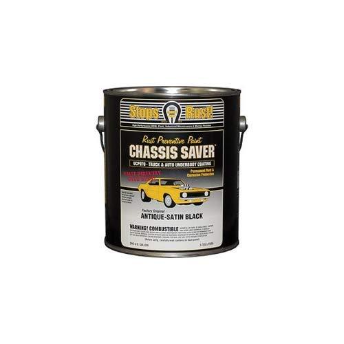 Magnet Paint UCP970-01 Chassis Saver Rust Preventative Paint, Satin Black, 1 Gallon