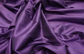 Best plum silk fabric Reviews