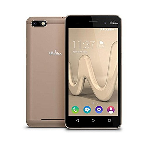 Wiko 10635 12,7 cm (5 Zoll) Lenny 3 Smartphone (16GB interner Speicher, 8MP Kamera, Android 6 Marshmallow) gold