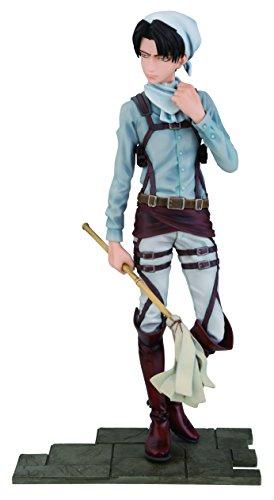 Attack on Titan Cleaning Levi PVC Figura