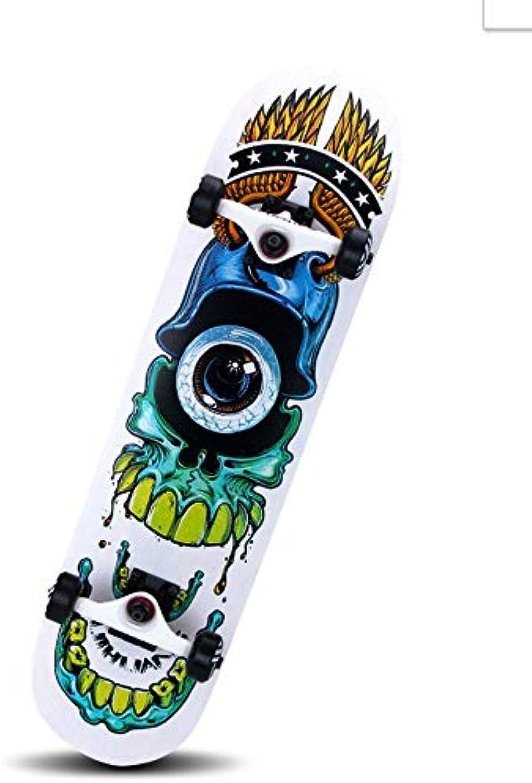 FTYUC Skateboard, Doppelwippe, LongboardDouble-Up-Skateboard-Allrad-Roller-Board für Hellsehen B07L77RZ5W  Verpackungsvielfalt