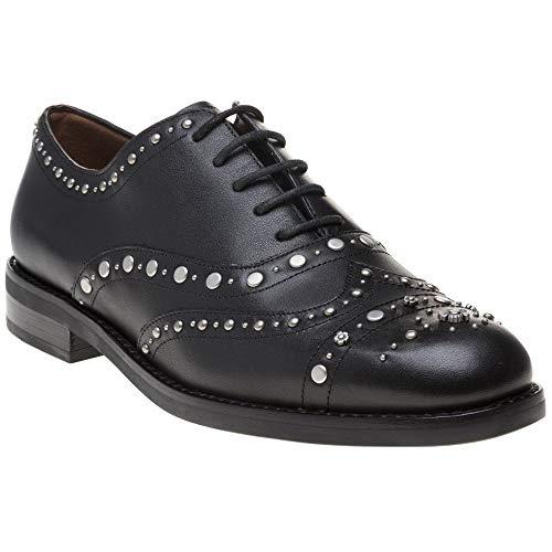 Coach Tegan Oxford Mujer Zapatos Negro 38 EU