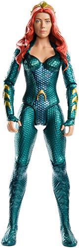 Mattel FXF92 DC Aquaman Mera 30 cm Figur, Spielzeug Actionfiguren ab 4 Jahren