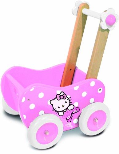 Vilac Hello Kitty Puppenwagen/Laufwagen
