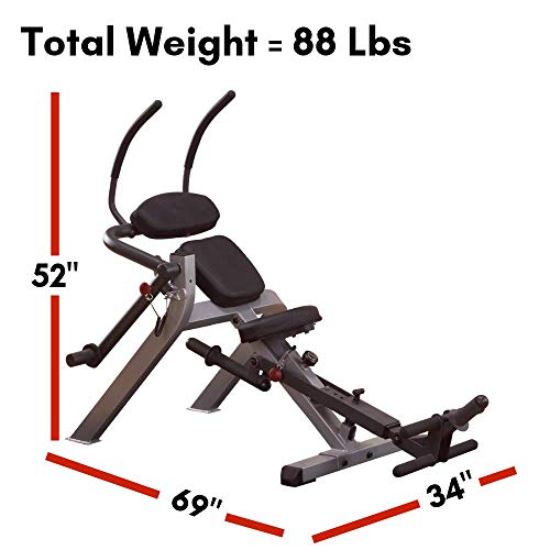 Body-Solid Semi-Recumbent Ab Bench (GAB300)