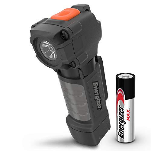 Energizer Pocket-Sized LED Flashlight, IPX4 Water Resistant, Impact Resistant, Professional Durability, Clip on Flash Lights, 1 AA Battery Included