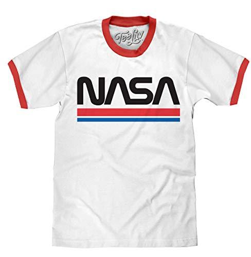 NASA Damen Collegiate Logo T-Shirt