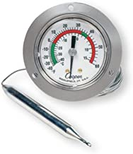 Cooper-Atkins 6142-58-3 Vapor Tension Panel Thermometer with Front Flange, NSF Certified, 20