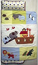 SoHo Toddler Nap Mat Rollable, Colorful Noah Ark
