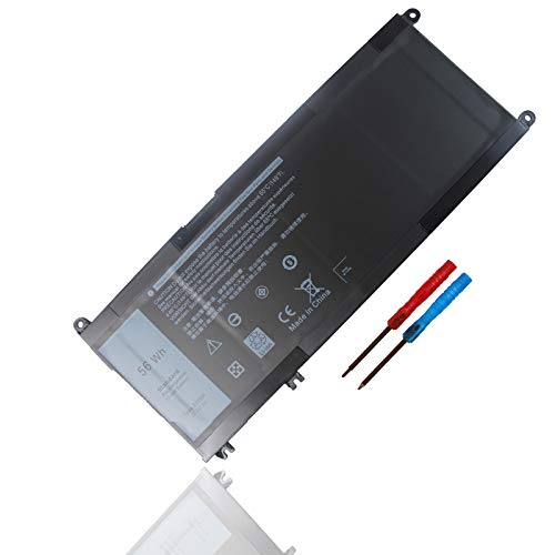 New 15.2V 56Wh 33YDH Laptop Batería para Dell Inspiron 15 7577 17 7000 7773 7778 7786 7779 2in1 G3 3579 3779 G5 5587 G7 7588 Latitude 3380 3490 3580 3590 Vostro 7570 7580 99NF2 PVHT1 DNCWSCB6106B