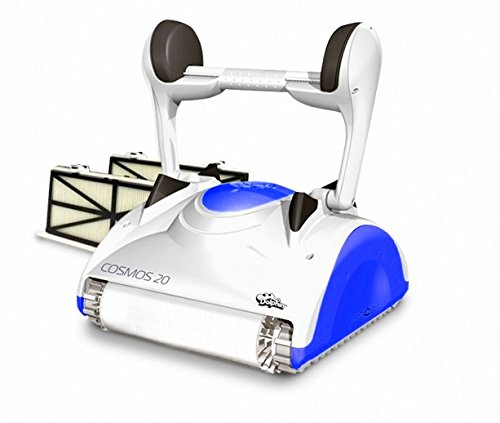 Maytronics Dolphin Cosmos 20 Digital - Robot Elettrico Pulitore Per Piscina Fino A 15 Mt Con Rivestimento MOSAICO PIASTRELLE E VETRORESINA