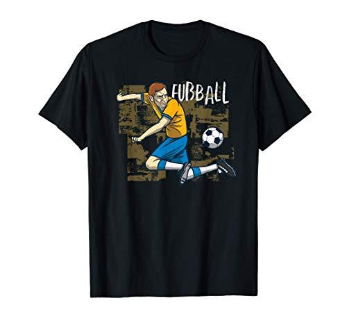 Fußball Sport Fusballspieler T-Shirt
