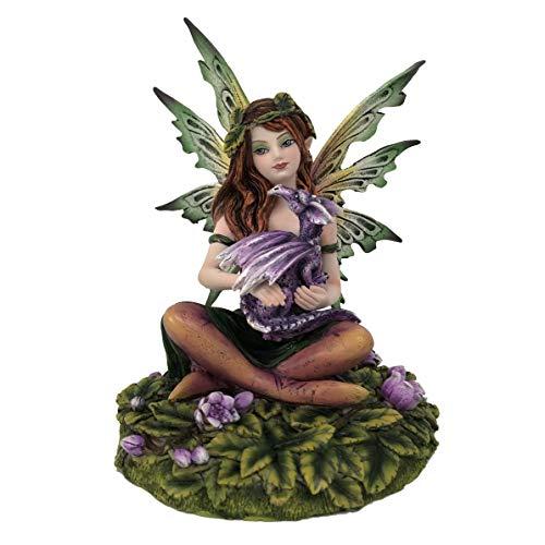 Les Alpes Orig. Fata ALLID, 15cm, Orig Fairy Land Collection - Figura Statuina Dipinta a Mano - 042 763