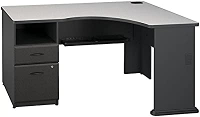 Amazon.com: Bush muebles Cabot 60 W computadora de ...