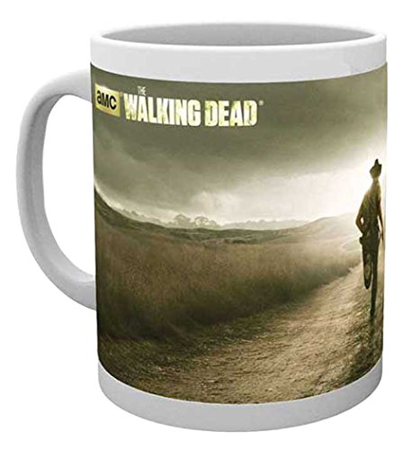 empireposter Walking Dead - Running - Keramik Tasse - Größe Ø8,5 H9,5cm