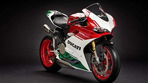 SWAOOS Rompecabezas Adultos 1000 Adultos Rompecabezas de La Moto Final de Ducati es Interesante Adultos Juegos Infantiles Juego Familiar para