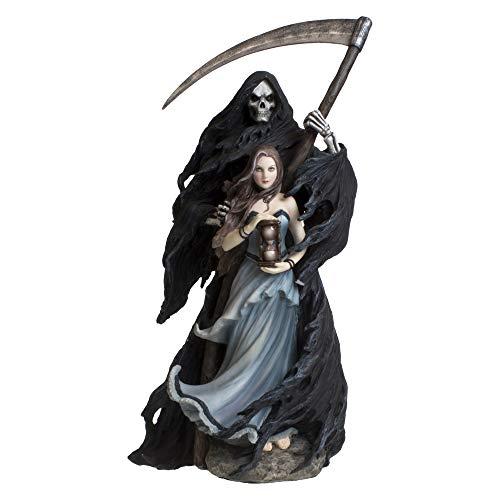 Nemesis Now - Statuetta Summon The Reaper 37 cm, in Resina, Taglia Unica, Colore: Nero