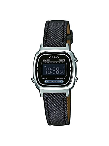 Casio Collection Damen Retro Armbanduhr LA670WEL-1BEF
