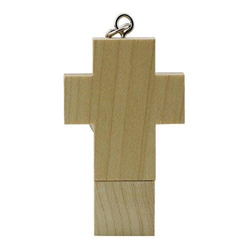 64GB croce di legno pen drive usb flash drive usb flash drive pendrive chiavetta usb thumb bastone