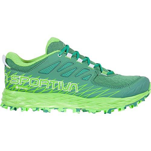 LA SPORTIVA Lycan Woman GTX, Zapatillas de Trail Running Mujer, Grass Green/Jasmine Green, 37 EU