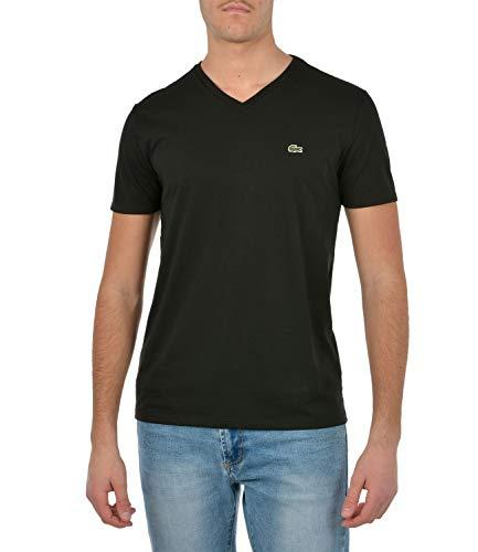 Lacoste T-shirt, Homme, TH6710, Noir, M