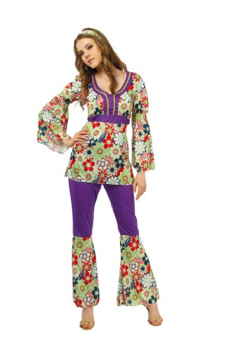 Boland Déguisement Miss Hippie - Femme Taille : M - 38/40