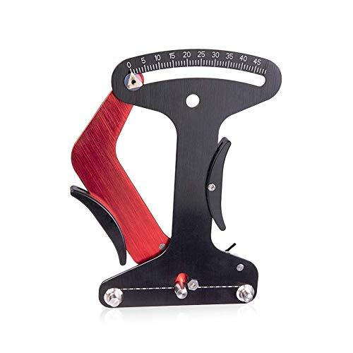 CLIUS Fahrrad Speichen Federspannung Meter Kalibrierung Werkzeug, Aluminiumlegierung Fahrrad Felge Einstellung Federspannung Meter Für Fahrrad Rad Speichen Manufacturing Oder Korrektur