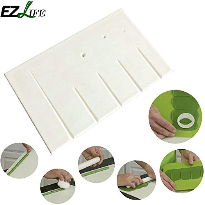 C 30CM ZHANWEI Bathroom Shelf Shower Organiser Wall-Mounted Punch Free Multifunction Space Aluminum, 2 Inssizetion Methods (color   C, Size   50cm)